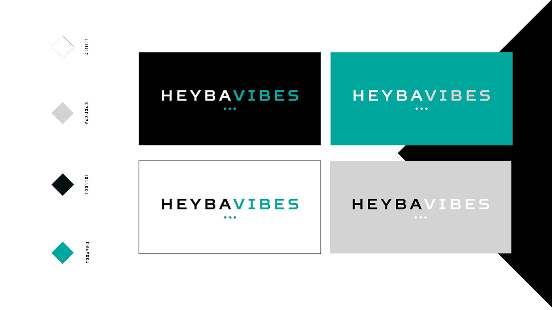 Heyb Brand Colors