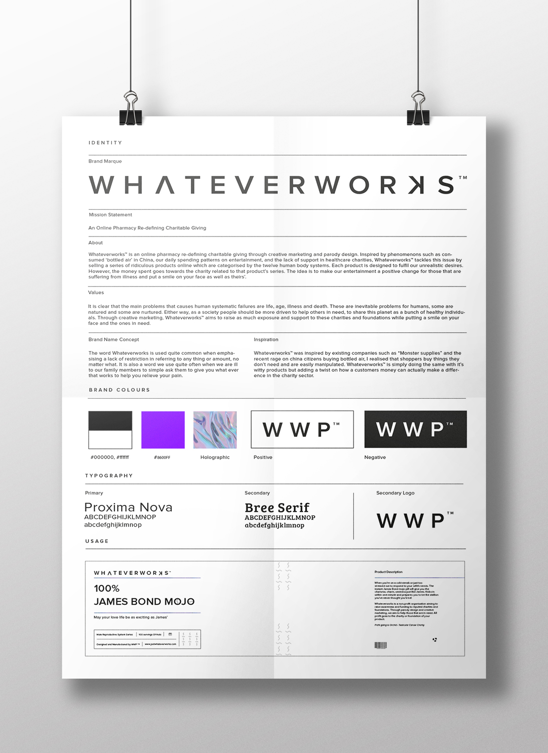 WWP identity poster mock