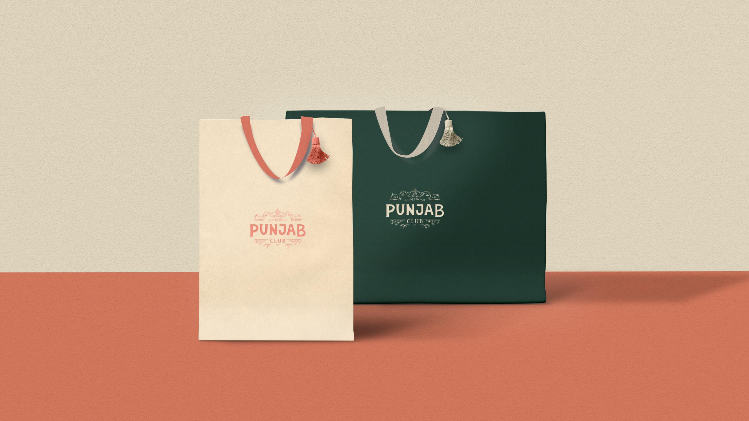 Punjab Portfolio Takeaway bag